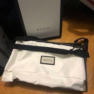 Gucci gift box dust bag and ribbon